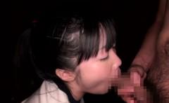 Japanese petite pussyfucked before cumshot