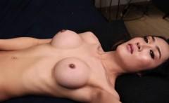 Glamorous ladyboy playing with her cock