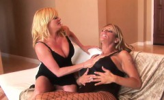 ginger and debi have a muff diving session