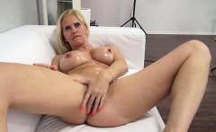 Big Tits Pornstar Casting And Cumshot
