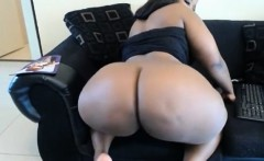 Amateur BBW get fucked by black guy and get it up the ass