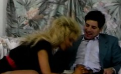 blonde babe gives head and gets pounded roughly