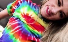 Teen Cutie Khloe Kapri Straddles Hung Stud