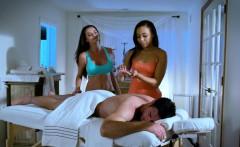 Milf Masseuse Fucking On The Massage Table