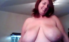 Red head BBW pov webcam