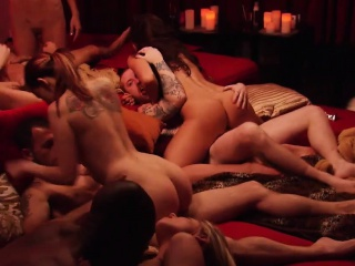 Nasty swingers swap partners and fucking in the mansion