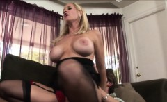 Teen And Milf Share Cock