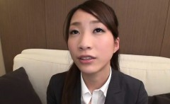 gorgeous young playgirl seduces an older boy in the office