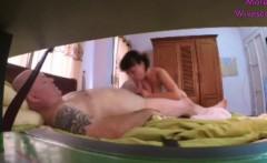 asian mature wife caught on hidden cam