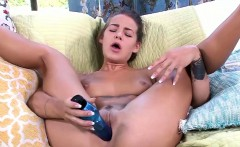 Evelin Stone using a toy on her soft pussy