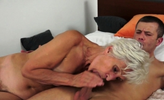 Smalltit Granny Gets Hairy Pussy Pounded Hard