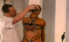 tit punishment fetish play for yielding woman