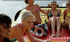 Group of filthy hot babes trying a wilf life in Miami and