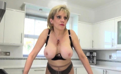 Adulterous Uk Mature Lady Sonia Showcases Her Massive Balloo