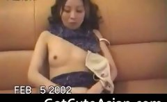 Sexy Chinese girlfriend blowjob and hard