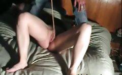 Merciless Floggging pussy my Milf Simone