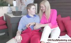 Blonde stepmom Darryl Hanah irresistable