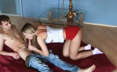 coeds sex on the floor