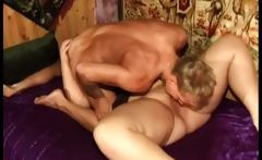 Filthy brunette and blond obese bitch