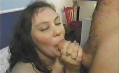 2 fat girls BBW fucking and facial cumshot
