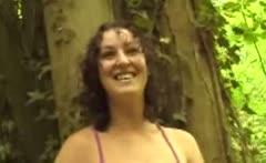 Outdoor Masturbation adventures UK girl Ruby