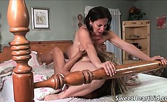 Awesome hot lesbian sex with nasty great