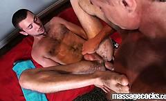 Oily Anal Drill on Massagecocks