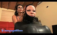 Bodacious Rhythmic Latex Teen Fetish Punishment