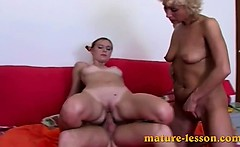 Guy fucks chubby woman and pretty nubile