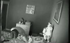Spy cam caught morning masturbation my mom