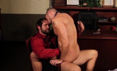 ay officesex hunk assfucked by his boss