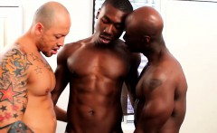 Amateur interracial jocks threeway fun