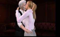 She gets seduced by older man