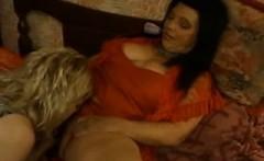 Horny Lesbian Milf Seduces Younger Girl