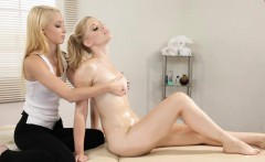 Sweet babes Charlotte Stokely and Lola Hunter lesbian action