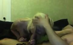 Horny Blonde Hipster Having Sex