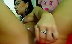 Horny Chick Riding Her Adult Toy