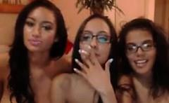 Three Nerdy Girls Teasing