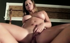 Hung stud fucks his sweet big boobed stepdaughter