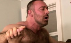 Daddy Brad Kalvo and two twink in hardcore action