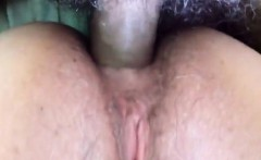 Hard love tool penetrates a horny wifes tight anal hole