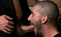 Mike De Marko is screwing his warehouse buddy Johnny Hazard