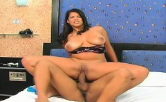 Big tit MILF Vanessa gets a thick cock pounding her wet fuck hole