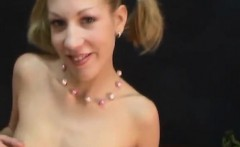 Blonde gets fucked by black POV blowage and facial
