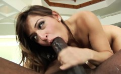 Lingerie model fucked in tight pussy with bbc