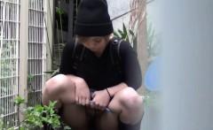 Oriental whore pee alley