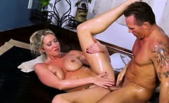 Voluptuous and blonde Lexi Lowe gets fucked by Marcus London