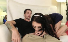 FamilyStrokes- Step-Siblings Caught Fucking By Milf