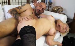 CastingAllaItaliana - Blonde newbie in italian anal casting