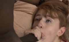 Amateur redhead takes bbc